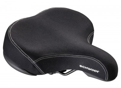 Комфортное седло Schwinn Extra Wide Lycra Saddle